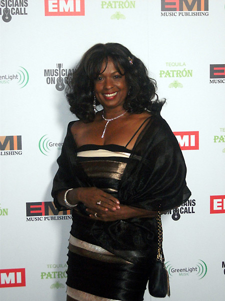 Joan Belgrave at the 2012 Grammys