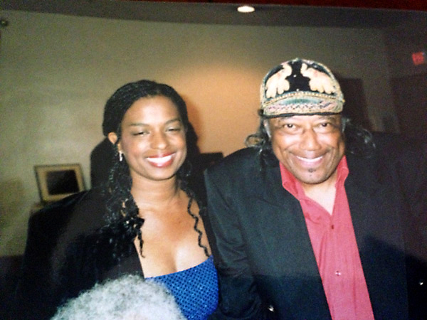 Joan Belgrave with Horace Silver