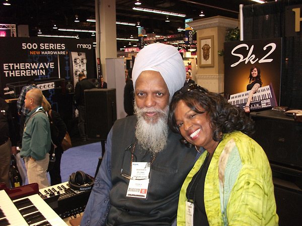 Joan Belgrave with Lonnie Smith