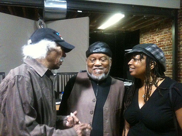 Joan and Marcus Belgrave with Gerald Wilson