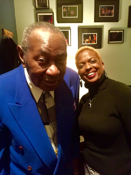 Joan Belgrave with Freddy Cole