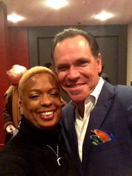 Joan Belgrave with Kurt Elling